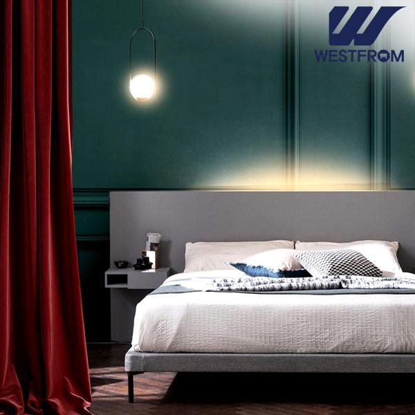 [웨스트프롬] New모던벨라) 라이팅그레이 TWO 매트리스 침대(퀸) / 클라우드 Top F7 QUEEN 매트리스