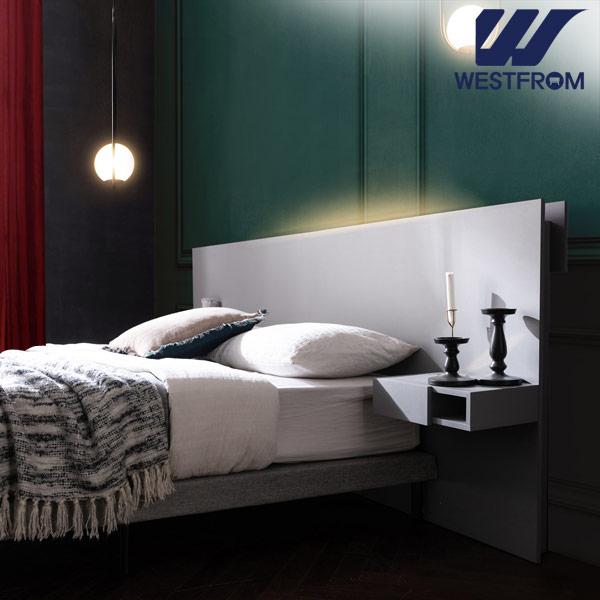 [웨스트프롬] New모던벨라) 라이팅그레이 TWO 매트리스 침대(퀸) / 클라우드 Top F15 QUEEN 매트리스