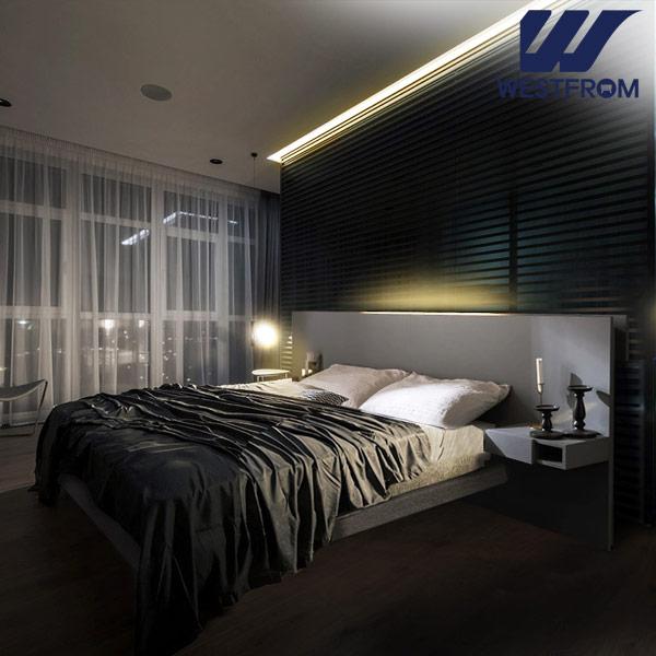 [웨스트프롬] New모던벨라) 라이팅그레이 TWO 매트리스 침대(퀸) / 클라우드 Top F17 QUEEN 매트리스
