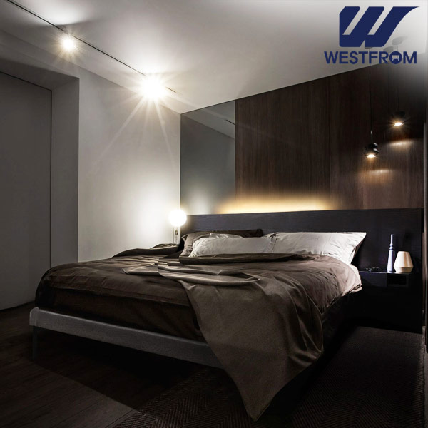[웨스트프롬] New모던벨라) 라이팅블랙 TWO 매트리스 침대(퀸) / 클라우드 Top F17 QUEEN 매트리스